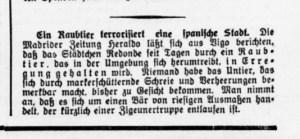 Niederrheinisches Tageblatt am 1.2.1934
