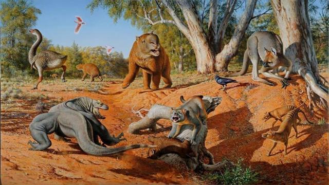 australische Megafauna