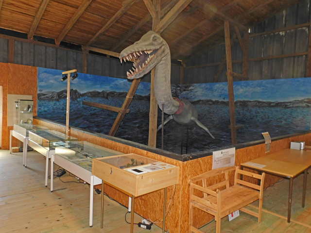 Basilosaurus im Tor zur Urzeit