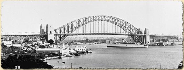 Sydney Harbour 1935