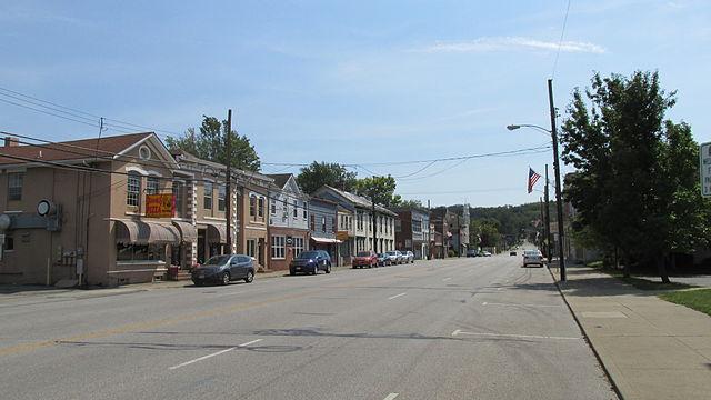 Main Street von Batavia Ohio