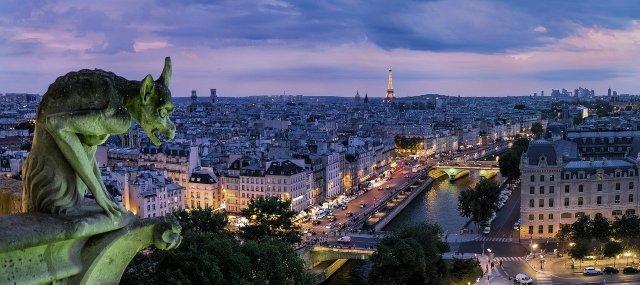 Paris Wasserspeier