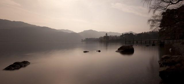 Lake District im Nebel