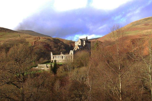 Schottische Burg