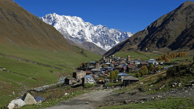 Dorf in Georgien