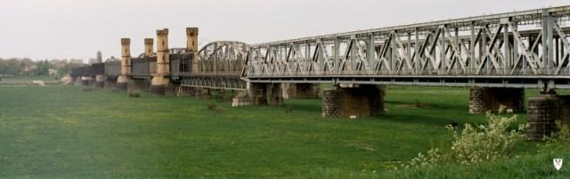 Weichelbrücke von Tczew in Polen, ehemals Dirschau
