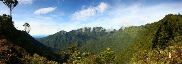 Mount Bosavi auf Neuguinea