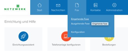 Placetel Cloud Telefonanlage Fax Eingang Schweinfurt Netzwerk