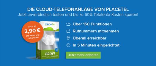 Placetel Cloud Kosten Schweinfurt Netzwerk