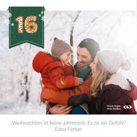 Weihnachten ist keine Jahreszeit. Est ist ein Gefühl!