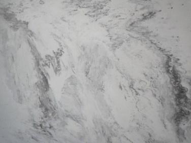 Flexibler Marmor Bahnen und Fliesen 2 mm stark - grey marble