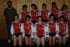 Damen 1 1990/91