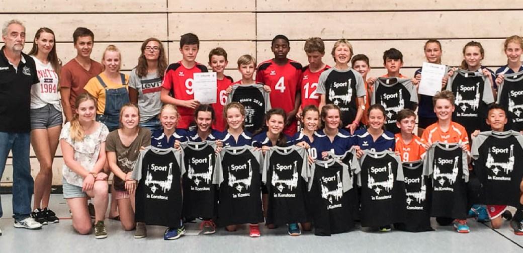USC Konstanz beteiligte sich am Volleyball-Regierungspräsidiumsfinale