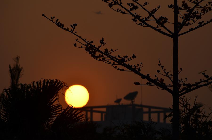Shenzhen-sunset