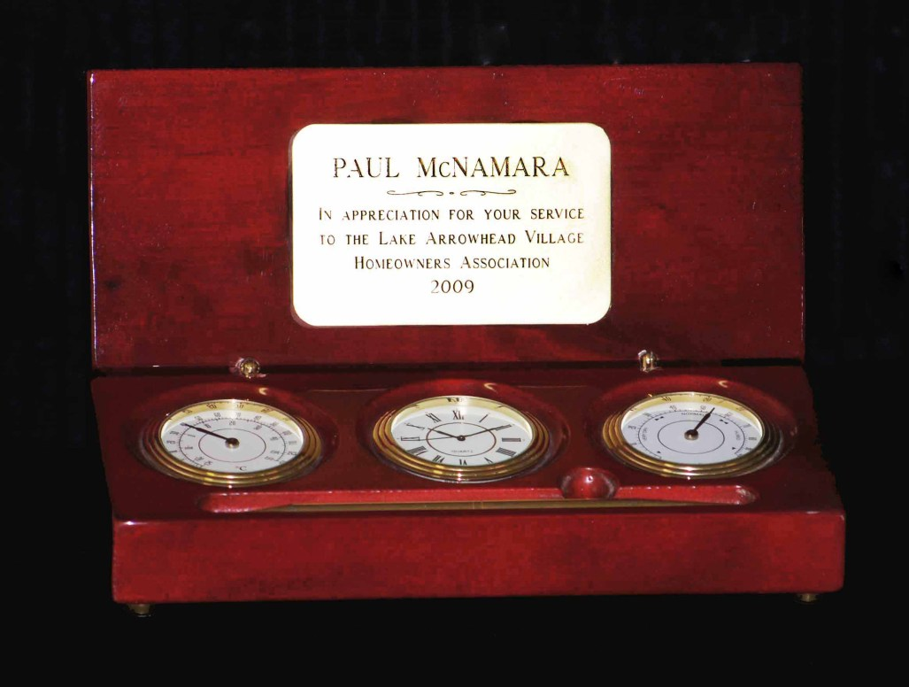 clock barometer gift