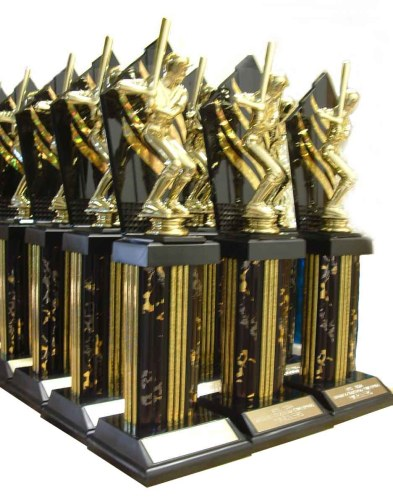 trophies baseball