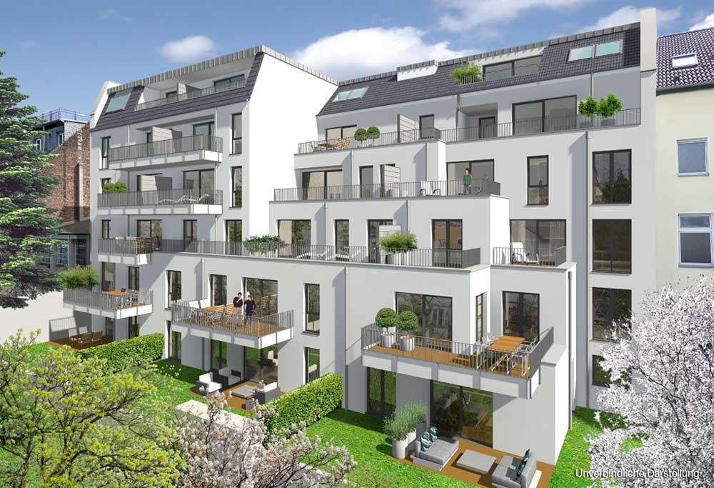 Zülpicher Straße 222 - Köln-Sülz - WvM Immobilien - Neubau