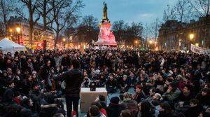 Nuit Debout April 2016 in Paris