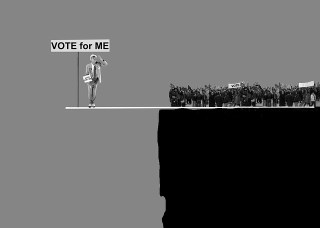 Beitrag - Neue Debatte - Vote for me. (Foto: Marc Hatot, pixabay.com, CC0 Public Domain)