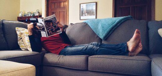 Auf dem Sofa ist Passivität Trumpf.