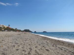 Almuñecar, an der Costa Tropical gelegen