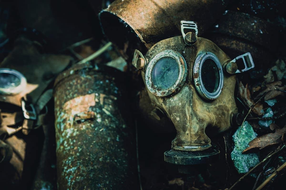 Kaputte Gasmasken. Foto Taton Moise, Unsplash.com
