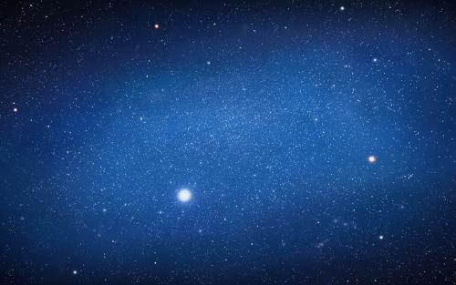 Die menschliche Population lebt auf einem Staubkorn der Galaxis.