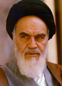 Ajatollah Khomeini.