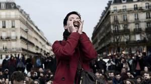 Debout face au sexisme en politique. Global Debout – Paris: Nuit Debout / DR