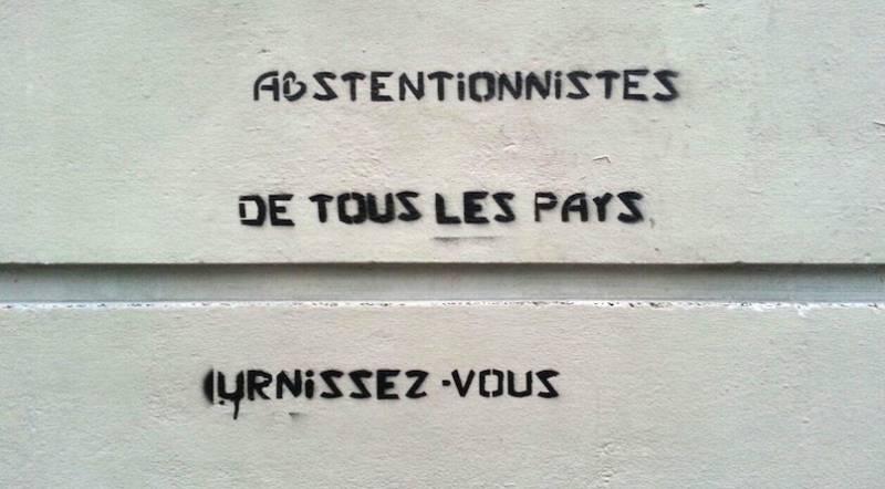 Abstentionnistes: Die Partei der Nicht-Wähler will sich in Frankreich Gehör verschaffen