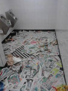 Kreative Gestaltung öffentlicher WC-Anlagen der Wiener Linien - Foto von Marty - Unsere Zeitung Freundeskreis