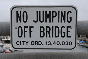 no jumping off the bridge PublicDomainPictures; pixabay.com; Creative Commons CC0