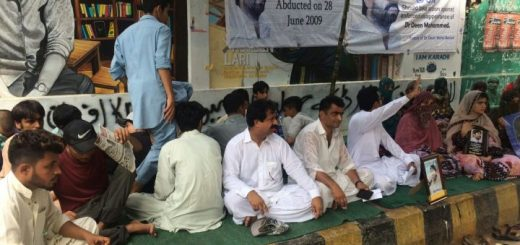 Proteste in Karachi: Gegen das verschwinden von Menschen in Pakistan