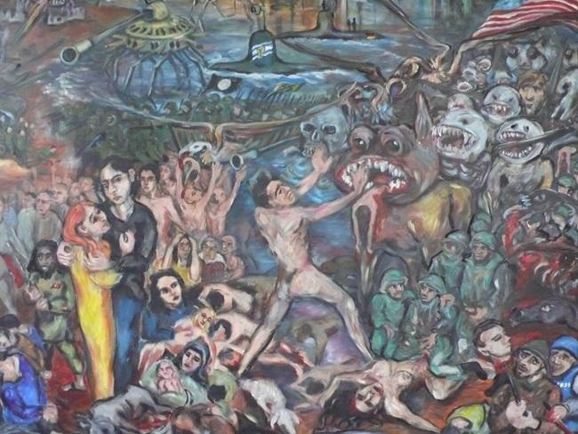 Kunst gegen den Krieg und Tod in Syrien