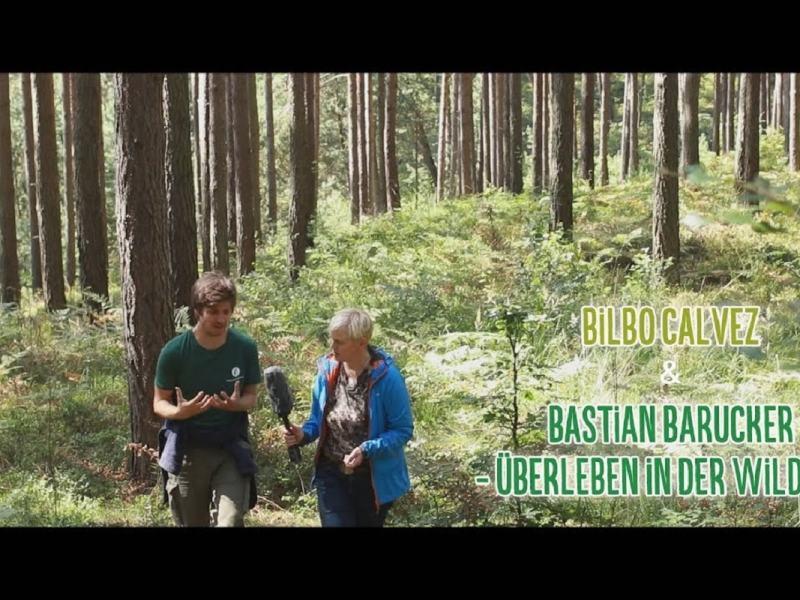 Bärensuppe: Bilbo Calvez im Gespräch mit Bastian Barucker über das (Über-)Leben in der Wildnis
