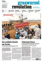 Graswurzelrevolution Januar 2018 Titelseite