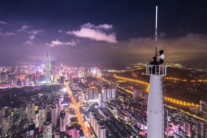Sai Ge Guang Chang, Shenzhen Shi, China. (Foto: Denys Nevozhai, Unsplash.com)
