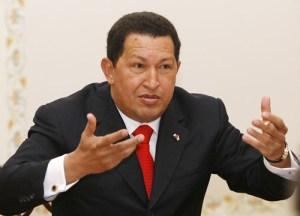 Hugo Chávez bei einem Treffen mit Russlands Präsidenten Wladimir Putin im September 2008. (Foto: Archiv Russische Regierung, CC BY 3.0)