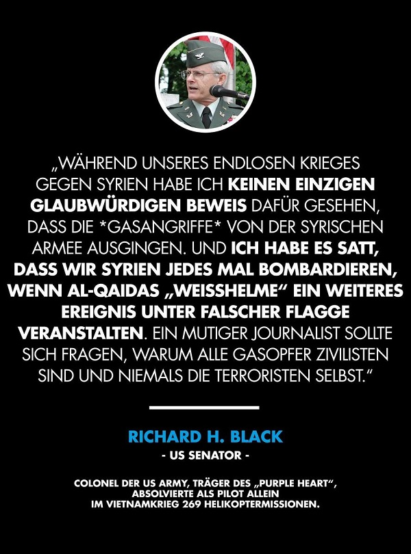 Richard H. Black, US-Senator. (Foto: Rubikon.news)
