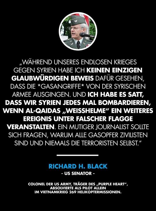 Richard H. Black, US-Senator. (Foto: Rubikon.news)