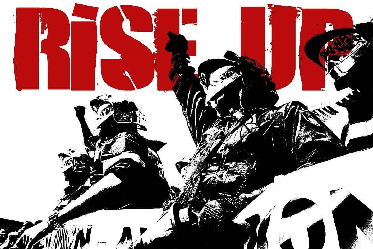 Rise Up. Empöre dich über Armut, Hartz IV und andere Ungerechtigkeiten. (Foto: Teacher Dude, Flickr.com, CC BY-SA 2.0)