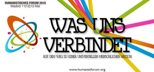 Was uns verbindet Humanistisches Forum 2018