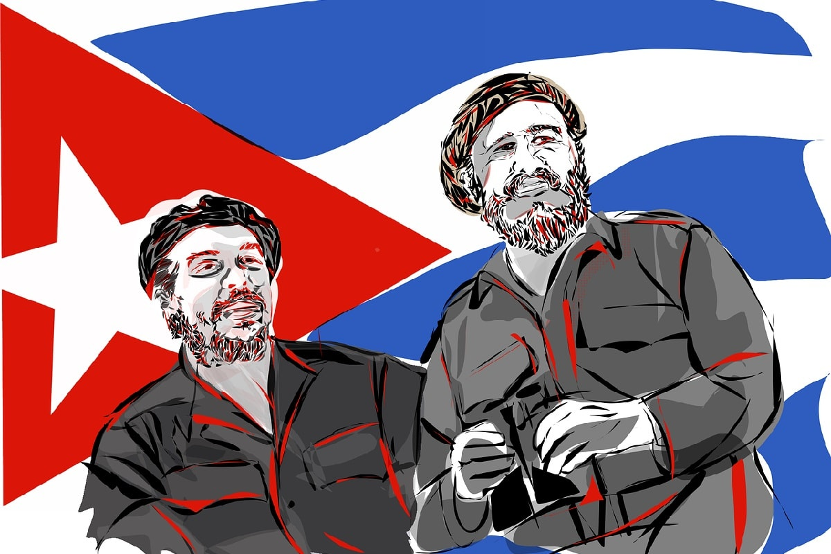 Che und Fidel. (Foto: hafteh7, Pixabay.com; Creative Commons CC0)