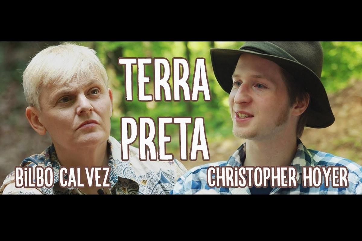 Bilbo Calvez und Christopher Hoyer im Gespräch über Terra Preta (Foto: Bilbo Calvez)