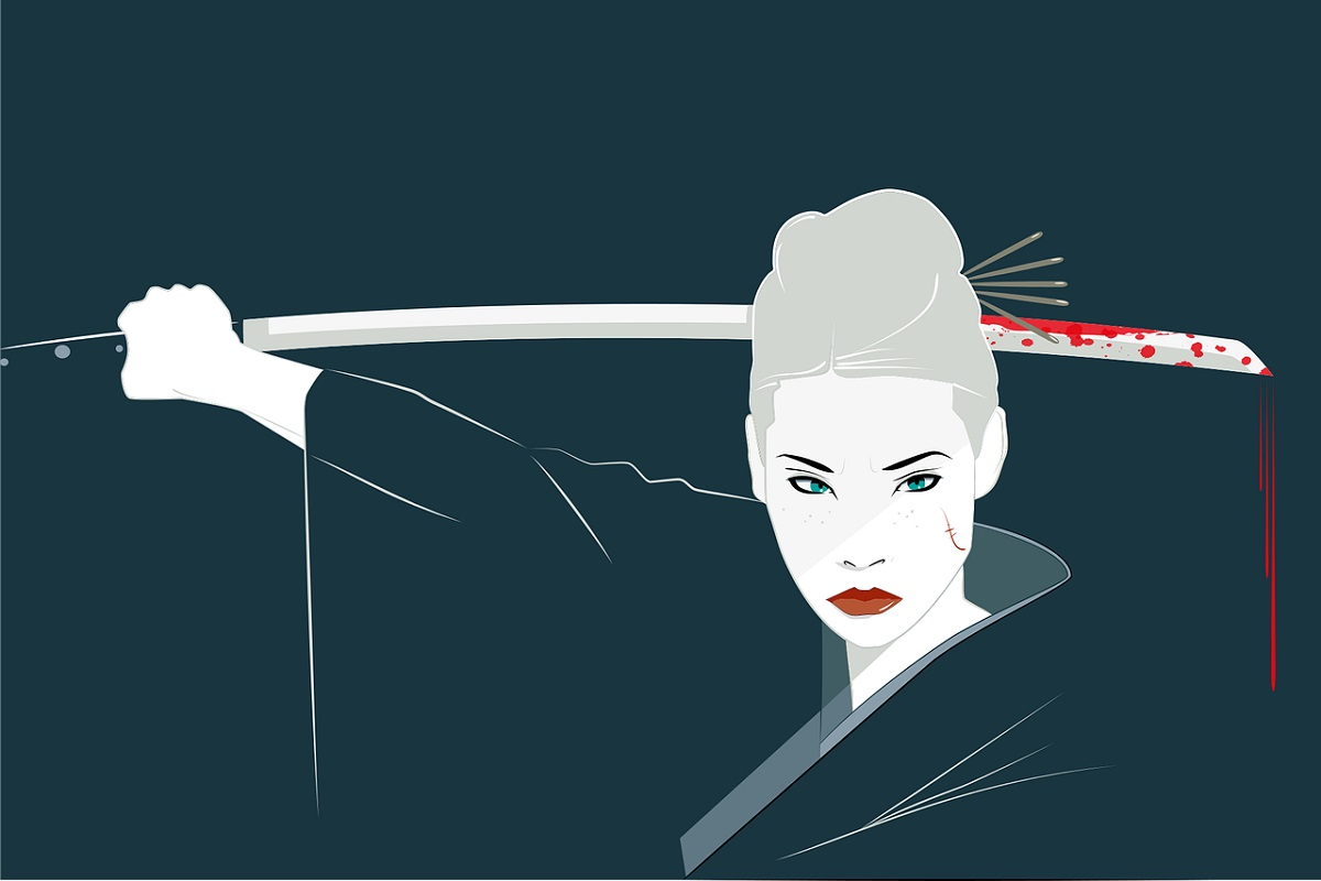 Lucy Liu. (Grafik: James Jester, Pixabay.com, Creative Commons CC0)