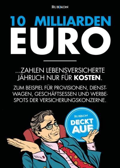 Rubikon Studie Versicherungen in Deutschland. (Grafik: Rubikon.news)