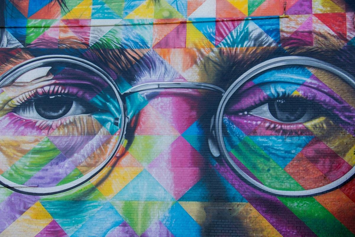 Wall Art John Lennon. (Foto: Nick Fewings, Unsplash.com)