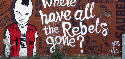 Wo sind all die Rebellen hin. Wall Art. (Foto: Robert Anasch, Unsplash.com)