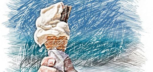 Eiscream in einer Waffel. (Illustration: Alexas_Fotos, Pixabay.com,Creative Commons CC0)