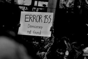 Demokratie nicht zu finden. (Foto: Randy Colas, Unsplash.com)